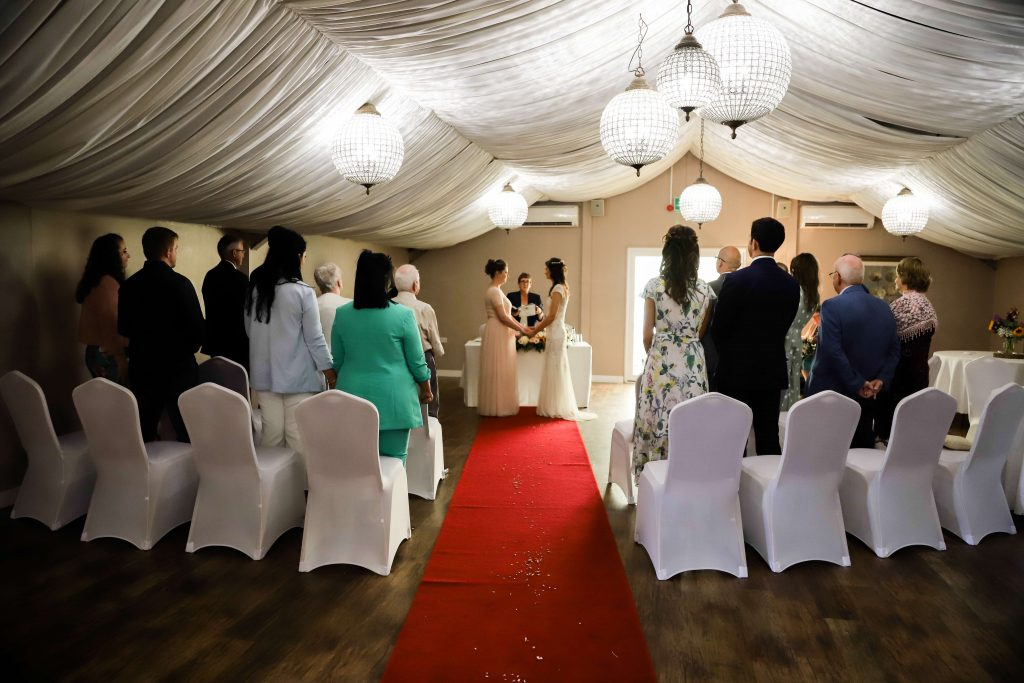 Swavesey windmill indoor civil ceremony